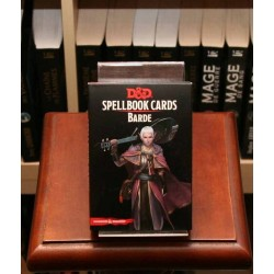Spellbook Cards : Barde (Dungeons & Dragons 5)