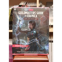Guildmasters' Guide of Ravnica - Maps and Miscellany - anglais (Dungeons & Dragons 5)